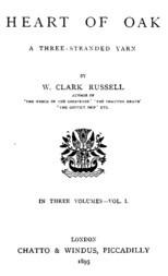 Heart of Oak, vol. 1. / A Three-Stranded Yarn
