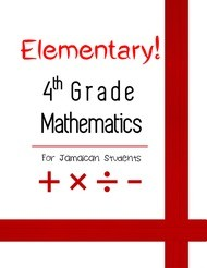 Elementary! Fourth Grade Mathematics