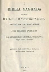 A Biblia Sagrada / Contendo o Velho e o Novo Testamento