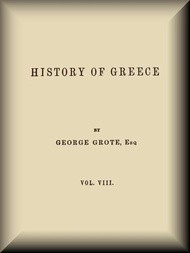History of Greece, Volume 08 (of 12)