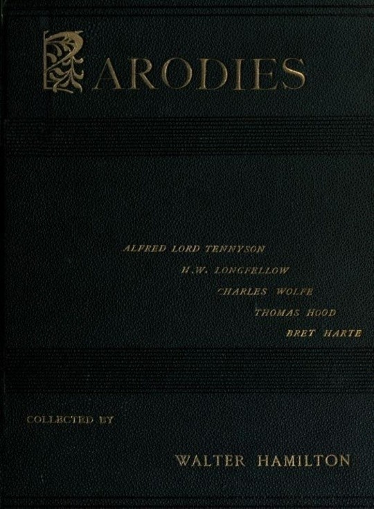 Parodies of the Works of English and American Authors, Vol I