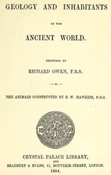 Geology and Inhabitants of the Ancient World