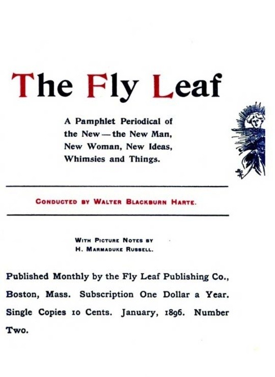 The Fly Leaf, No. 2, Vol. 1, January 1896