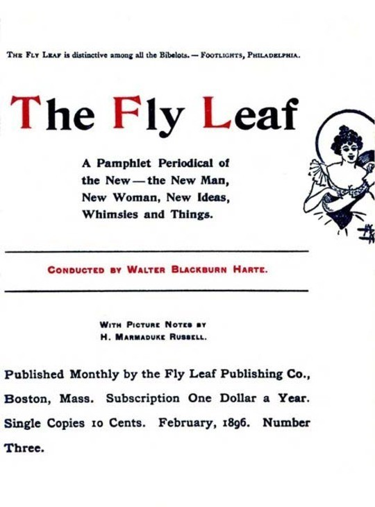 The Fly Leaf, No. 3, Vol. 1, February 1896