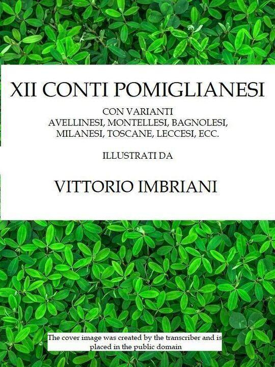 XII conti pomiglianesi / con varianti avellinesi, montellesi, bagnolesi, milanesi, toscane, ecc.