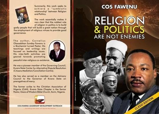 RELIGION AND POLITICS ARE NOT ENEMIES