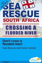 Don't cross a flooded river!
