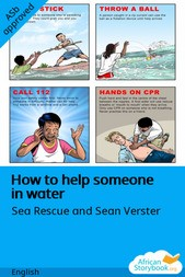 How to help someone in water
