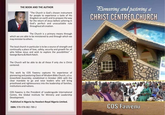 Pioneering and Pastoring a Christ Centred Church