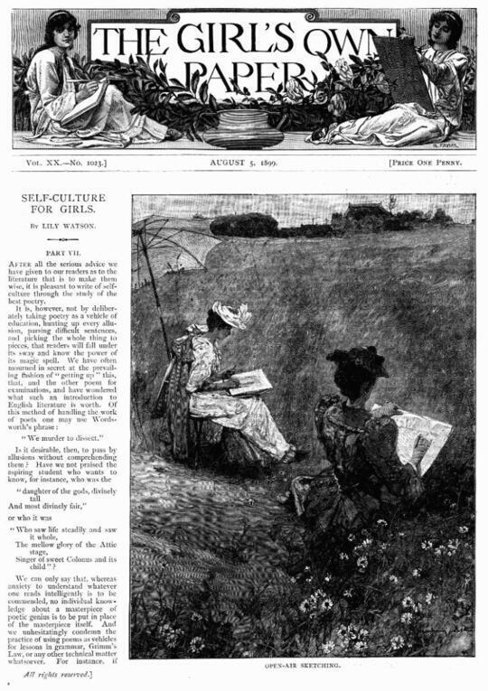 The Girl's Own Paper, Vol. XX. No. 1023, August 5, 1899
