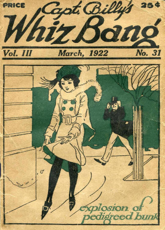 Captain Billy's Whiz Bang, Vol. 3, No. 31, March, 1922 / America's Magazine of Wit, Humor and Filosophy