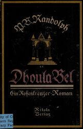 Dhoula Bel / Ein Rosenkreuzer-Roman