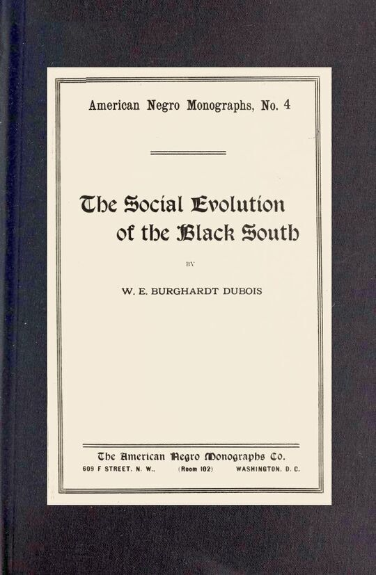 The social evolution of the Black South
