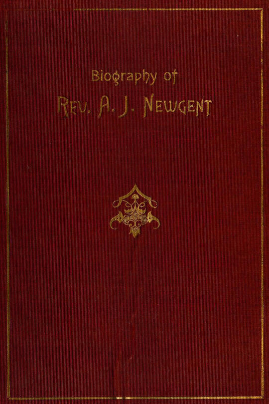 The Experiences of Uncle Jack / Being a Biography of Rev. Andrew Jackson Newgent