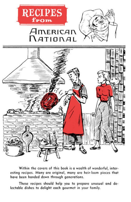 Recipes from American National