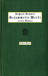 Gesammelte Werke in drei Bänden (1/3)