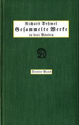 Gesammelte Werke in drei Bänden (3/3)