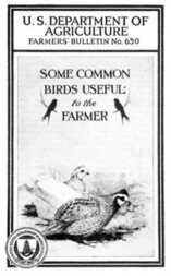 USDA Farmers' Bulletin No. 630 / Some Common Birds Useful to the Farmer