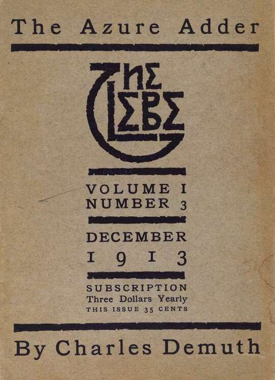 The Glebe 1913/12 (Vol. 1, No. 3): The Azure Adder