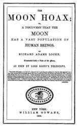 The Moon Hoax / A Discovery that the Moon has a Vast Population of Human Beings