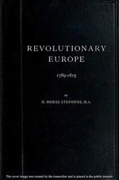 Revolutionary Europe 1789-1815
