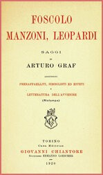 Foscolo, Manzoni, Leopardi