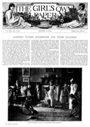 The Girl's Own Paper, Vol. XX, No. 1025, August 19, 1899