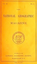 The National Geographic Magazine, Vol. II., No. 4, August, 1890