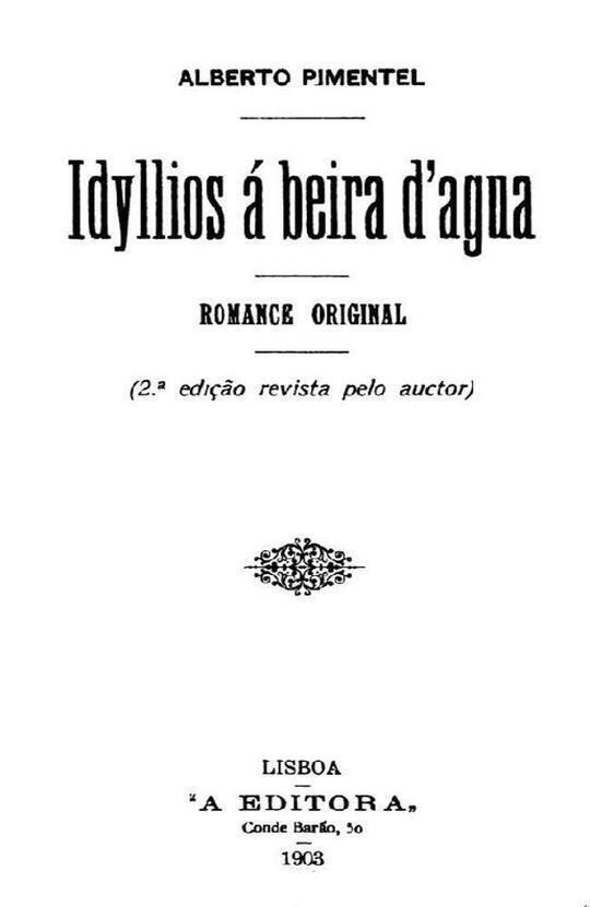 Idyllios á beira d'agua Romance original