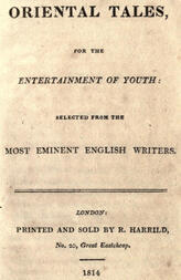 Oriental tales, for the entertainment of youth / Selected from the most eminent English writers
