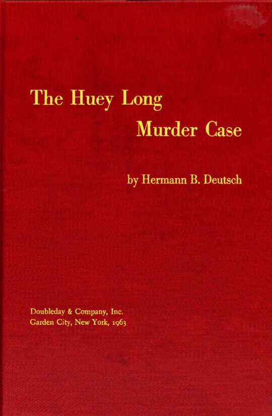 The Huey Long Murder Case