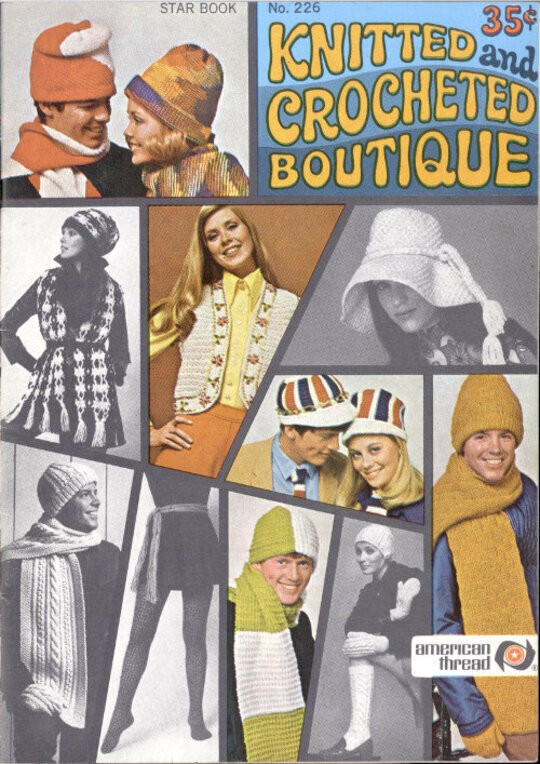 Star Book No. 226: Knitted and Crocheted Boutique