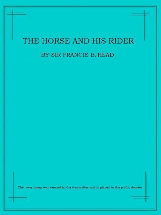 The Horse and His Rider