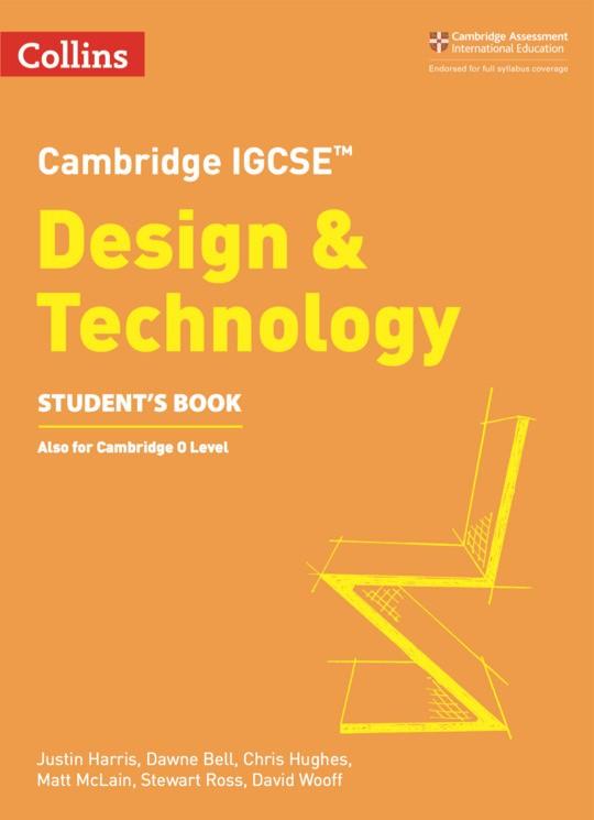 Collins Cambridge IGCSE™  Design & Technology Student's