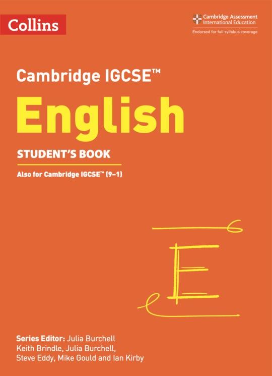 Collins Cambridge IGCSE English Student's ebook