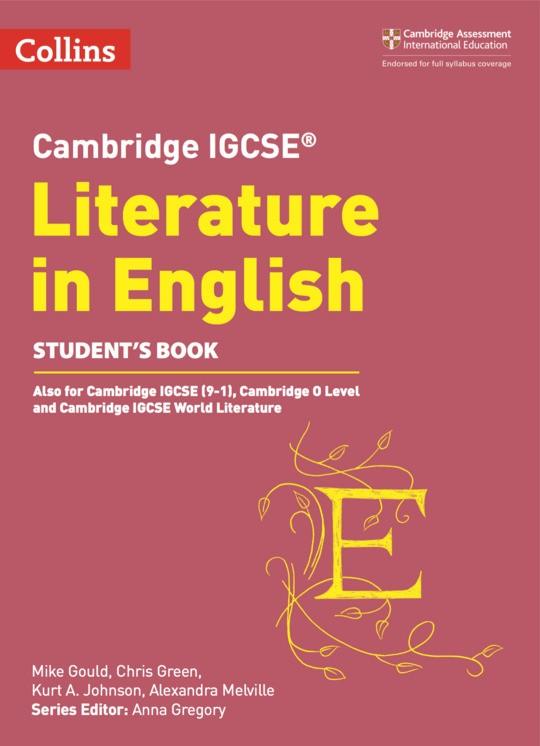 Collins Cambridge IGCSE™ Literature in English Student's