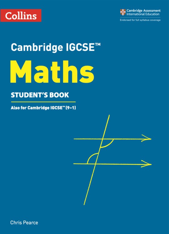 Collins Cambridge IGCSE™ - Cambridge IGCSE™ Maths Student's