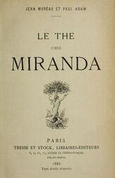Le thé chez Miranda