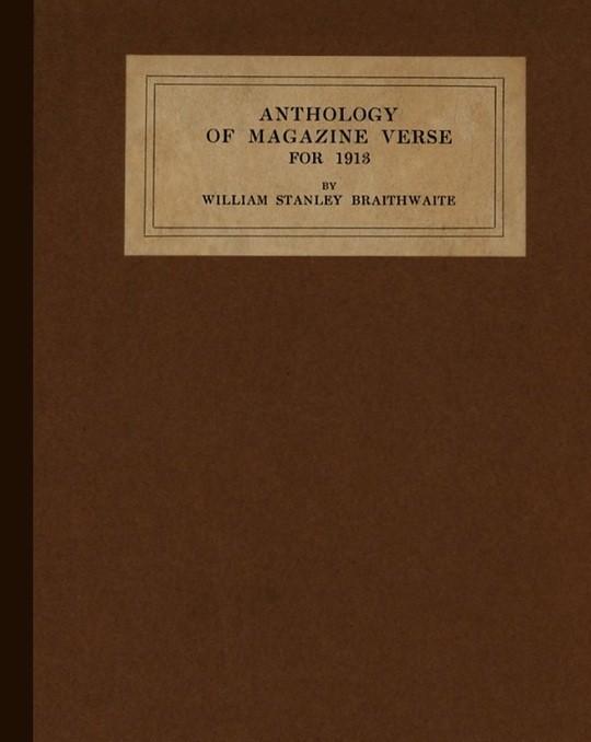 Anthology of Magazine Verse for 1913