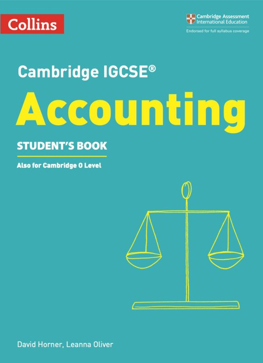 Collins Cambridge IGCSE™  Accounting Student's