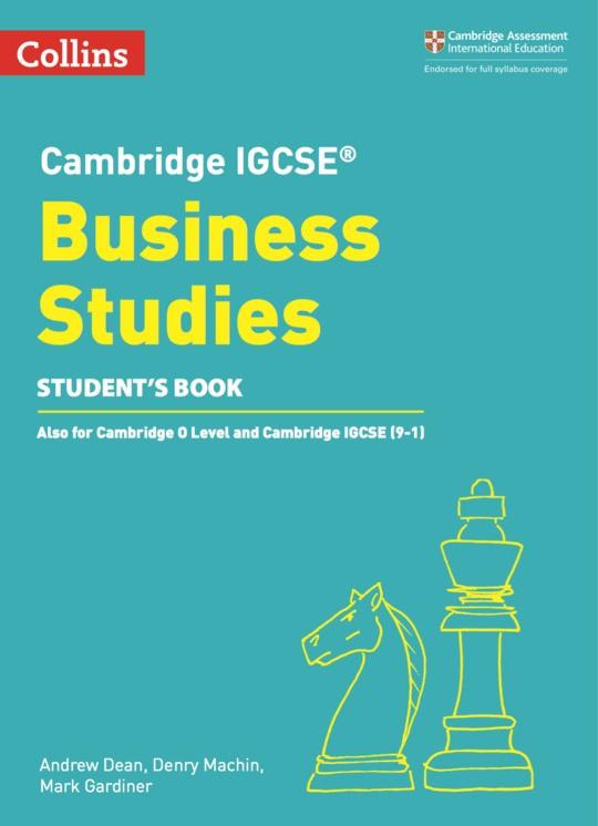 Collins Cambridge IGCSE™  Business Studies Student's