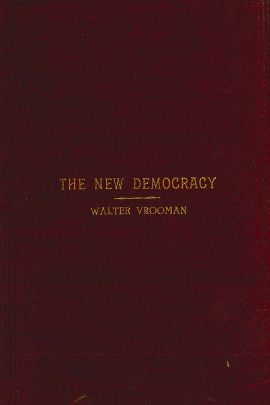 The New Democracy A handbook for Democratic speakers and workers
