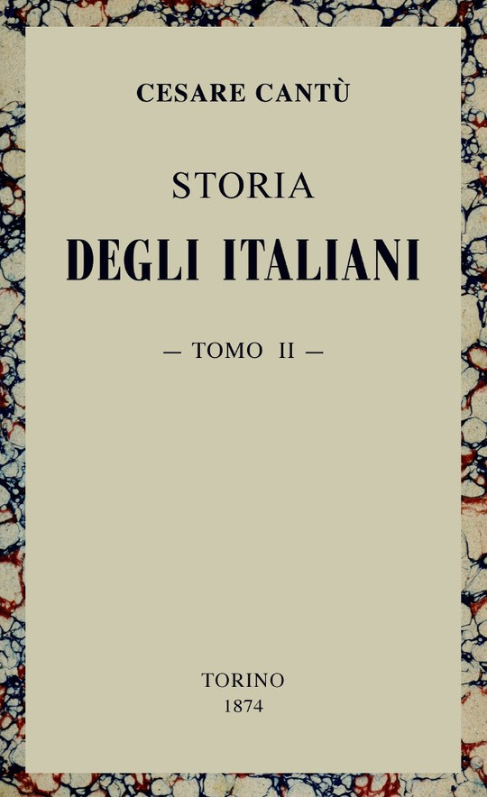 Storia degli Italiani vol. 2 (di 15)