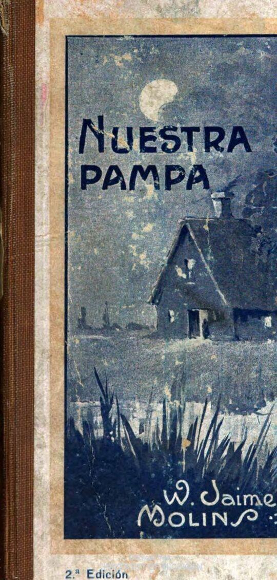 Nuestra Pampa; libro de lectura