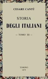 Storia degli Italiani, vol. 3 (di 15)