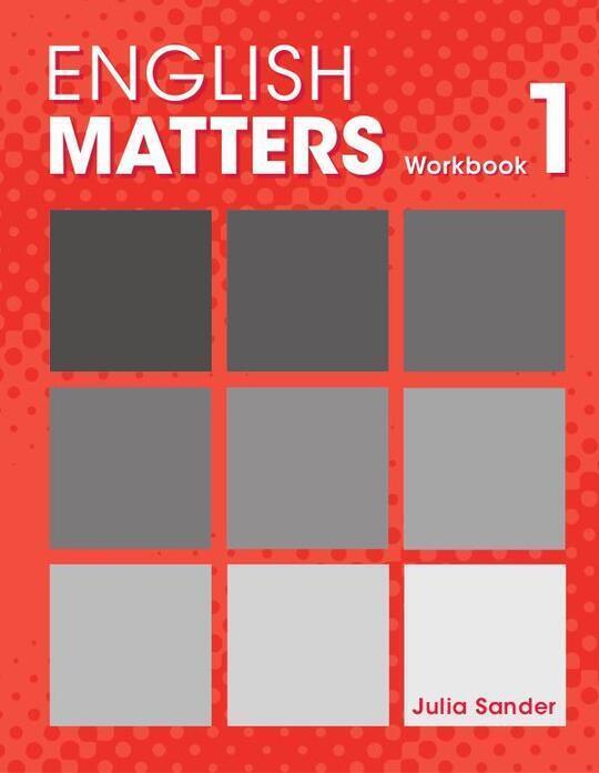 English Matters Workbook 1