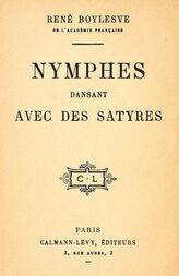 Nymphes dansant avec des satyres