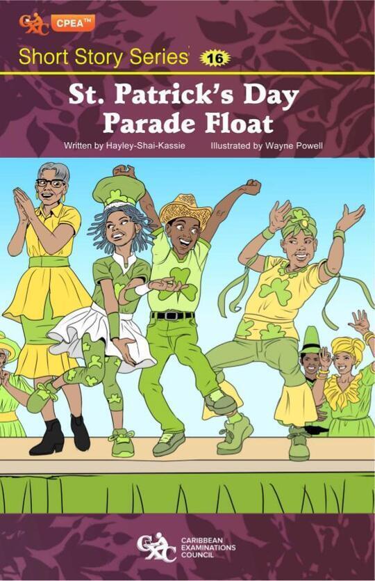 St Patrick's Day Parade Float