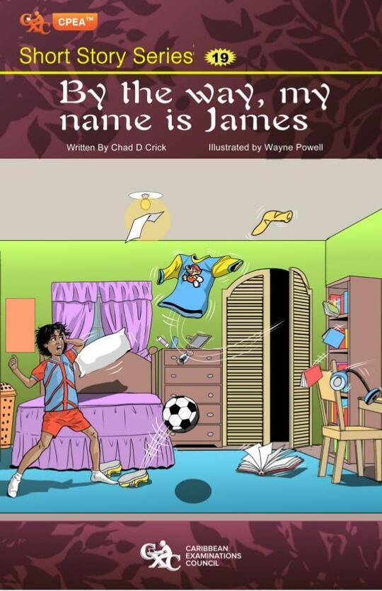 By the way, my name is James