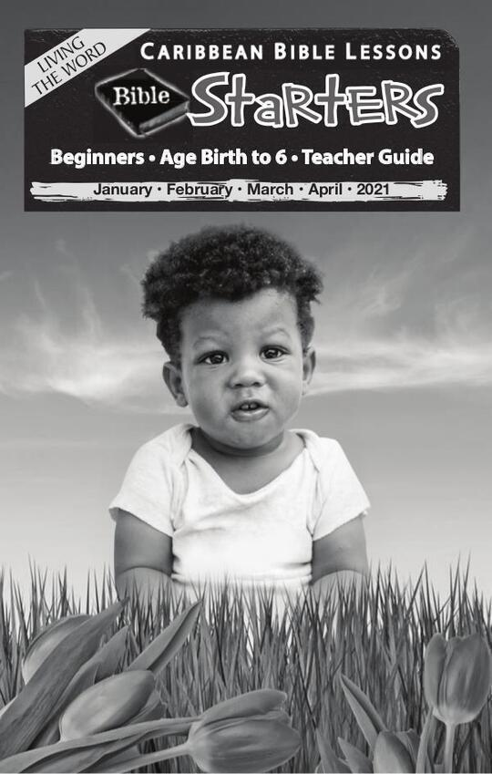 Bible Starters - Teacher Guide Easter Issue 2021